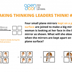 Q#13: How will you see yourself in four mirrors?Winners Announced